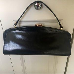 HOBO International leather clutch bag